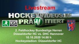 Hockeyvideos.de – DHC vs. DHCH – 10.10.2020 14:00 h