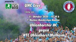 UHC Live – UHC vs. HTCU – 31.10.2020 14:30 h
