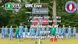 UHC Live – UHC vs. HPC – 31.10.2020 17:00 h
