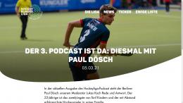 Hockeyliga Podcast #3 – Interview/Podcast – Zu Gast: Paul Dösch – 05.03.2021