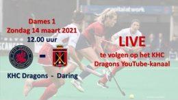 KHC Dragons – KHCD vs. RDHC – 14.03.2021 12:00 h