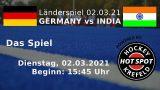 CHTC TV – GER vs. IND – 02.03.2021 15:45 h