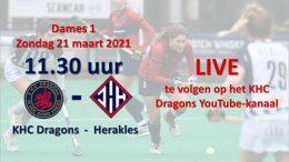 KHC Dragons – KHCD vs. RHHC – 21.03.2021 12:00 h