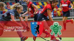 BHC Hockey Bundesliga – BHC vs. HTCU – 28.03.2021 12:00 h