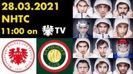 NHTC TV – NHTC vs. HPC – 28.03.2021 11:00 h