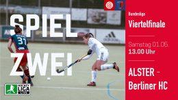 Der Club an der Alster – Playoff – DCadA vs. BHC – 01.05.2021 13:00 h