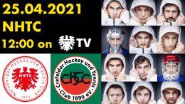 NHTC TV – Playdown – NHTC vs. CHTC – 25.04.2021 12:00 h