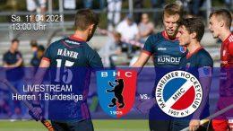 BHC Hockey Bundesliga – BHC vs. MHC – 11.04.2021 13:00 h