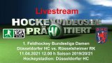 Hockeyvideos.de – DHC vs. RRK – 11.04.2021 12:00 h