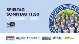 GTHGC Live – GTHGC vs. MSC – 18.04.2021 11:30 h