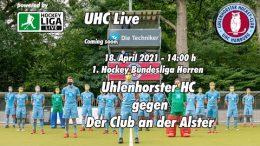 UHC Live – UHC vs. DCADA – 18.04.2021 14:00 h