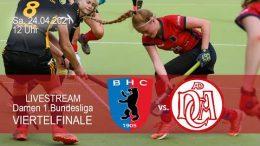 BHC Hockey Bundesliga – Playoff – BHC vs. DCADA – 24.04.2021 12:00 h