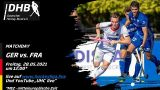 UHC Live – GER vs. FRA – Olympiatest Honamas – 28.05.2021 12:00 h