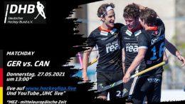 UHC Live – GER vs. CAN – Olympiatest Honamas – 27.05.2021 13:00 h