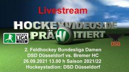 Hockeyvideos.de – DSD vs. BHC – 26.09.2021 13:00 h