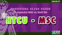 Uhlen TV – HTCU vs. MSC – 11.09.2021 13:30 h