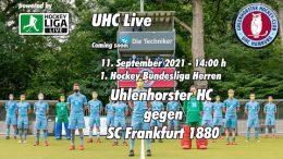 UHC Live – UHC vs. SCF – 11.09.2021 14:00 h