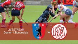 BHC Hockey Bundesliga – BHC vs. DCADA – 11.09.2021 14:00 h