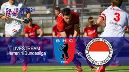 BHC Hockey-Bundesliga – BHC vs. RWK – 18.09.2021 12:00 h