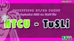 UHLEN.TV – HTCU vs. TuSLi – 18.09.2021 13:30 h