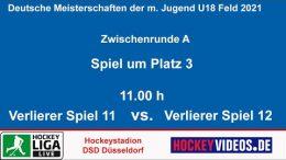 Hockeyvideos.de – Zwischenrunde Jugend DM mU18 – DCADA vs. TSVMH – 17.10.2021 11:00 h