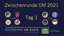 Wir Wespen – Jugend Zwischenrunde mU14 und wU16 – Tag 1 – 16.10.2021 10:00 h