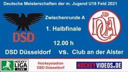 Hockeyvideos.de – Jugend Zwischenrunde mU18 – DSD vs. CadA – 16.10.2021 12:00 h