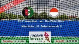 TGF TV – Jugend Zwischenrunde mU18 – TGF vs. RWK – 16.10.2021 14:00 h