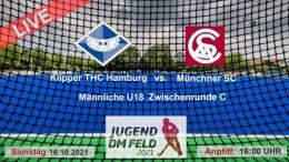 TGF TV – Jugend Zwischenrunde mU18 – KTHC vs. MSC – 16.10.2021 16:00 h