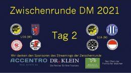 Wir Wespen – Jugend Zwischenrunde mU14 und wU16 – Tag 2 – 17.10.2021 10:00 h