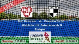 TGF TV – Jugend Zwischenrunde wU14 – DHCH vs. DHC – 17.10.2021 11:00 h