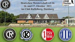 CR Live – Jugend Zwischenrunde wU16 – GTHGC vs. TSVMH – 17.10.2021 10:30 h