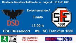 Hockeyvideos.de – Zwischenrunde Jugend DM mU18 – DSD vs. SCF – 17.10.2021 13:00 h