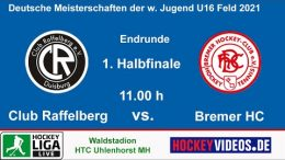 Hockeyvideos.de – Jugend DM wU16 – CR vs. BHC – 23.10.2021 12:00 h