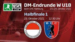 UHC Live – Jugend DM wU18 – RWK vs. BHC – 23.10.2021 12:30 h