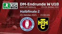 UHC Live – Jugend DM wU18 – UHC vs. HTHC – 23.10.2021 15:00 h