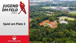 RWK TV – Jugend DM mU18 – Spiel um Platz 3 – DSD vs. HTHC – 24.10.2021 11:00 h