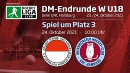 UHC Live – Jugend DM wU18 – Spiel um Platz 3 – RWK vs. UHC – 24.10.2021 10:00 h