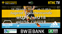 HTHC TV – Jugend Zwischenrunde wU18 – MSC vs. TuSLi – 16.10.2021 17:00 h